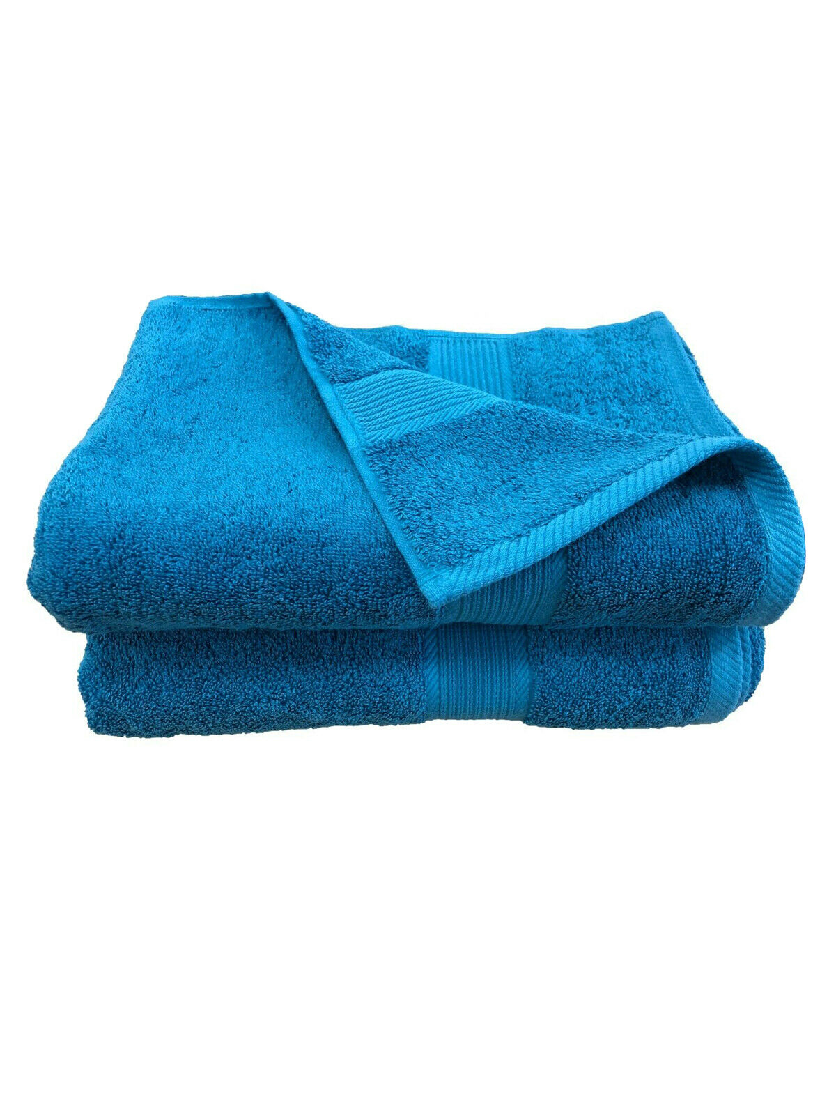 Pack of 4 Egyptian Cotton Bath Towel Luxury Super Soft Towel Combed Highly Absorbent Home Collection High Quality 500gsm Towel Set White